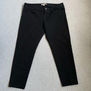 Banana Republic Black Sloan Leggings Size 12P